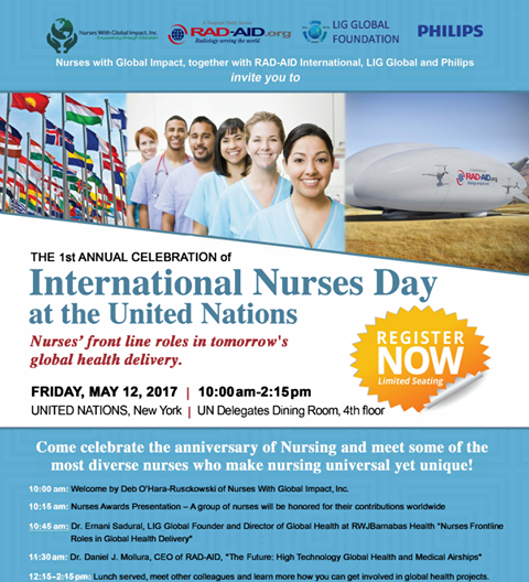 United Nations Delegates Dining Room: Honoring Nurses On International Nurses Day At The United